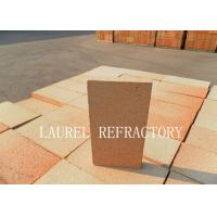 Large Fire Clay Brick For Furnace / Kiln Good Thermal Shock Resistance Manufactures