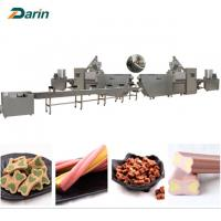 Good Pet Treats Dog Chews Bone food Extruder Machine  ISO9001 2008 Certification Manufactures