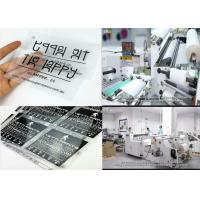 75micron/100micron Matte Hot&Cold Peel Printable Heat Transfer Film For Semi-automatic/Automatic Screen Printing Machine Manufactures