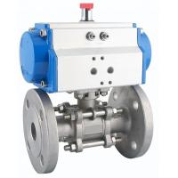 DA-140 Double Acting Rack And Pinion Pneumatic Actuator Corrosion Resistant Manufactures
