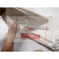 Cheap Knitted Fabric Mattress Cover invisible zipper for foam mattress Manufactures