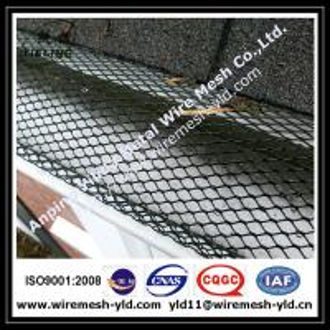 durable aluminum expanded metal gutter guard,gutter mesh Manufactures