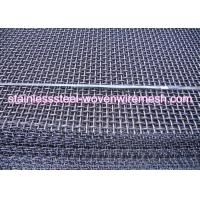 Quality Carbon Steel High Tensile Crimped Wire Mesh With Square Aperture And Round Wire for sale