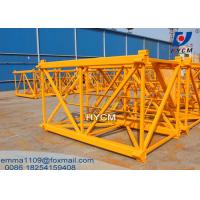 Cheap 1.6*2.5m Mast Section Square Steel Stronger Of QTZ50 Tower Cranes for sale