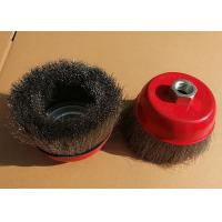 Removing Paint Stainless Steel Wire Brush Cup Wheel Suitable For Industrial