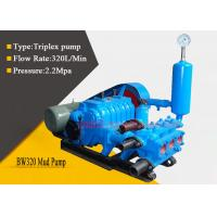 Single Acting Triplex Mud Pump for Geological Survey / Agricultural Irrigation Manufactures