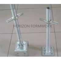 Metal Adjustable Scaffold Screw Jack Base For Leveling Ring Lock System Height Manufactures