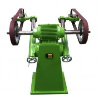 Smooth / Bright  Semiautomatic Wheel Polishing Machine Clean Casting Riser 1100*1200*1050mm Manufactures