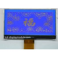 Side LED White Backlight Graphic LCD Module 240 x 128 92.00mm * 53.00mm Viewing Area