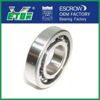 Chrome Steel Low Friction Ball Bearings , Deep Groove Radial Ball Bearings