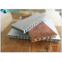 Long Duration Aluminum Honeycomb Panels , Honeycomb Material Customized Size Manufactures