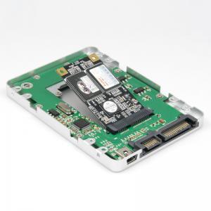 Mini PCI-e mSATA to SATA + USB 2.0 Converter Adapter 2.5 HDD SSD Case Enclosure 7mm Alumi Manufactures