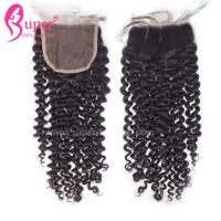 China Lace Closure Malaysian Virgin Hair Closures Unprocessed  8 - 24 Length on sale