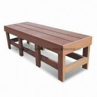 Bench with Wood/Plastic Composite Panel, High Density, Degree Of UV Stability Manufactures