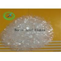 Pharma Raw Materials Magic Fish Scale White Flackes Boric Acid CAS 10043-35-3 Manufactures