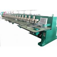 Mixed Chain-stitch / Chenille Embroidery Machine , Flat Computerized Embroidery Machine Manufactures