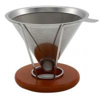 China Chemical Etching Wire Mesh Coffee Filter , Stainless Steel Filter Screen No - Rusting on sale