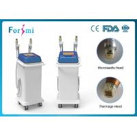5MHz Thermagic RF microneedle machine two handles for any skin treatment Manufactures