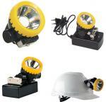 Atex certified cordless LED coal miners cap lamp, wireless mining cap light