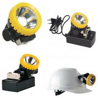 Atex certified cordless LED coal miners cap lamp, wireless mining cap light helmet light Manufactures