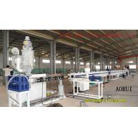 PPR Plastic Cooling and Hot Water Pipe Production Line , PPR Pipe Extrusion Machine Manufactures