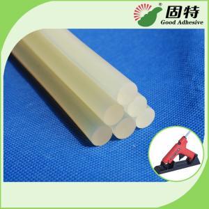 Cheap Light White Transparent Semi-Transparent Hot Melt Glue Stick EVA Hot Melt Adhesive Stick For Bonding Paper And craftwook for sale