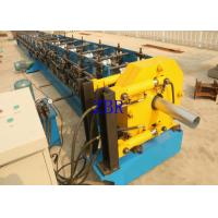 China Rain Downspout Roll Forming Machine 5.5Kw 1.2 Inch Chain Drive 6.5×1×1.2 M on sale