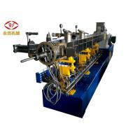 Two Stages Twin Screw Extruder Machine For PVC Cable Shoe Sole Pelletizing SJSL 75B Manufactures