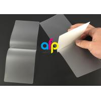 Card Membrane Clear Laminating Film / Pouch Laminating Film with Different Thickness Manufactures