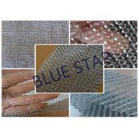 Fine Flat Wire Stainless Steel Knitted Mesh Corrosion Resisstance Wire Dia 0.15MM - 0.3MM Manufactures