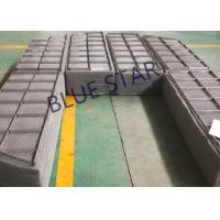 Stainless Steel Knitmesh Demister , Round / Rectangle Mesh Pad Mist Eliminator Manufactures