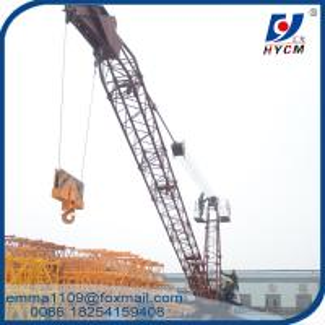 Cheap 10 t Derrick Crane 18 meters Range 150m Height Building Construction Equipment for sale