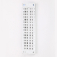 Squre Hole Prototyping Breadboard Solderless , SYB-120 Printed Circuit Board Prototyping Manufactures