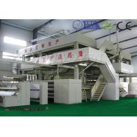 Cheap 1600mm SMS PP 400KW Nonwoven Fabric Making Machine For Operation Suit / Mask for sale