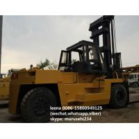 China 2 Stages Used Tcm Diesel Operated Forklift FD250 Isuzu Engine Ce Passed on sale