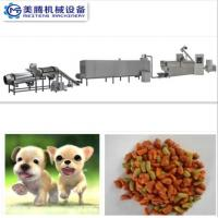 China Manufacture Dry Dog Food Pellet Production Line/ Pet Puppy Cat Fish Food processing line on sale