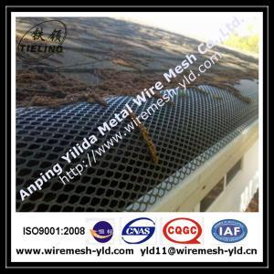 black color aluminum expanded metal gutter guard,gutter mesh Manufactures