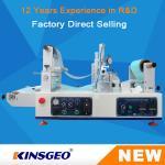 KJ-6018 Lab Continuous Hot Melt Coater , Hot Melt Coating Machine Digital Control Manufactures