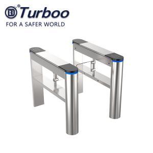 Pass Width 600-800mm Swing Barrier Gate Pedestrian Access Control 100-240V 40w Manufactures