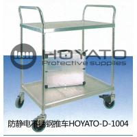 Clean Room ESD Consumables Stainless Steel Anti Static Trolley For Electronics Factory Manufactures