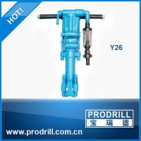 Y26  pneumatic jack hammer  rock drill for demensional stone quarrying Manufactures