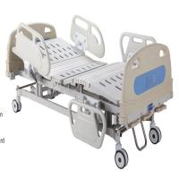 Three Cranks Hospital Manual Hospital Bed  Detachable PP Head & Foot Board Medical Bed Manufactures