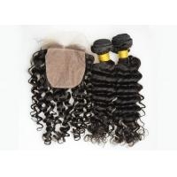 Natural Color Full Lace Frontal Closure 13x4 , Lace Frontal Closure With Baby Hair Manufactures