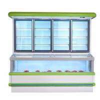 Vertical Combination Freezer And Refrigerator  With 1.8 M 2.5m High Efficient Manufactures