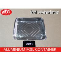 100 Micron Disposable Aluminum Foil Pans 4700ml Volume Food Grade Good Packaging