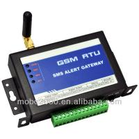Alarm system connects to pc GSM SMS controller,4 digital input and 4 digital output