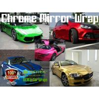 Chrome Mirror Car Wrapping Vinyl Film 3 layers - Chrome Purple Manufactures