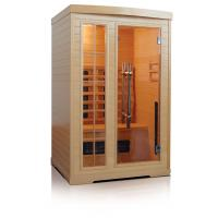 China 2people far infrared sauna room on sale