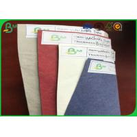 FSC Certificated Tear Resistant Colorful Washable Kraft Paper For Making Bags Manufactures
