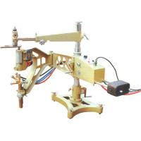 Civil Construction Semi Automatic Gas Cutting Machine High Effiency Extendable Line Track Manufactures